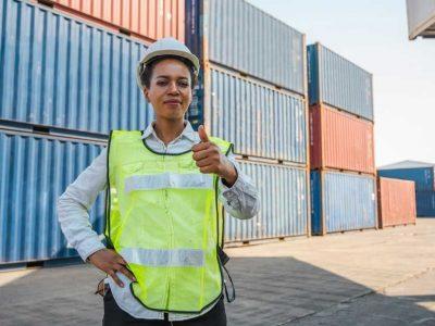 women freight agent
